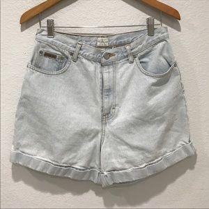 Vintage Calvin Klein Basic Cuffed Denim Jean Short